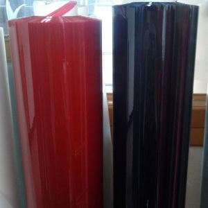 PVC Black Clear Film Used for Stationary Supplier pictures & photos