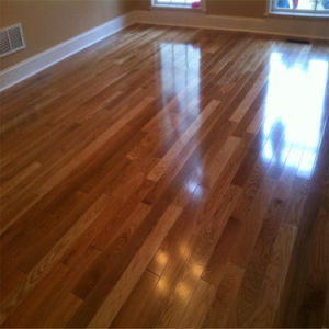 Solid Wood Flooring Techinic and Treatment Hardwood Flooring pictures & photos