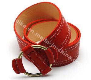 Fashion Vintage Imitation Leather Women Dress Belts pictures & photos