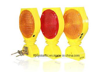 Solar LED Traffic Safety Warning Barricade Light Pjwl204
