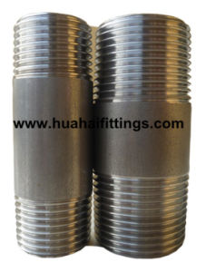 Sch40 150 Lbs Stainless Steel Pipe Nipple NPT