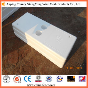 High Quality PVC Fence Base pictures & photos