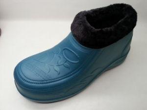OEM Color Women EVA PVC Snow Boots with Fur (21fv1108) pictures & photos