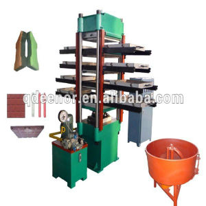 High Quality CE Certification Rubber Flooring Mat Machine pictures & photos