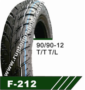 Emark Certificate Motorcycle Tire China 90/90-12 pictures & photos