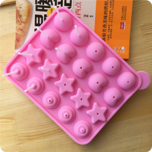 20 Silicone Tray Pop Cake Stick Mould, Lollipop Party Cupcake, Baking Mould pictures & photos