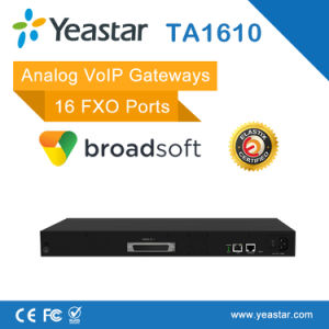 Asterisk T38 Supported 16 FXO Ports VoIP Analog FXO Gateway pictures & photos