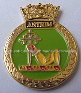 Customized Lapel Pin Plating Gold & Soft Enamel (MJ-PIN-132) pictures & photos