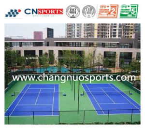 Cheap Ondoor Spu Rubber Tennis Court Flooring for Sporting pictures & photos