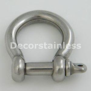 Stainless Steel 316 Stamped Bow Shackle pictures & photos