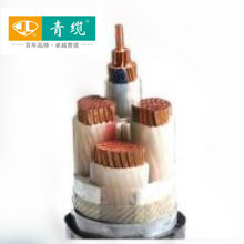Copper Conductor, XLPE Insulated, Steel Tape Armoured, PVC Sheathed 4 Core 25mm2 Electrical Cable (ZR-YJV22 4*25)