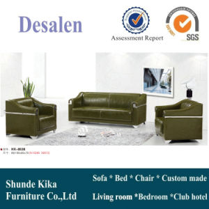 Modern China Leather Office Sofa (8538) pictures & photos