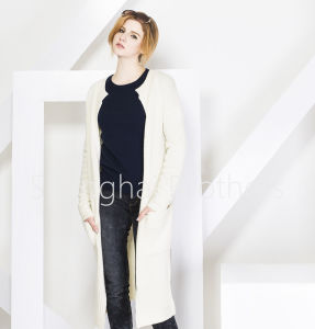 Ladies Fashion Cashmere Cardigan 16braw319 pictures & photos