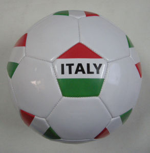 Italy Country Flag Soccerball pictures & photos