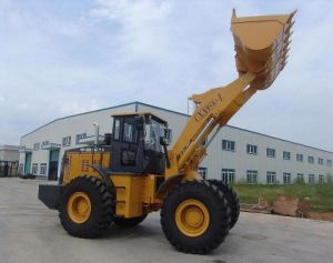 5ton Loader with Cat Engine, Zf Transmission, A/C, Joystick