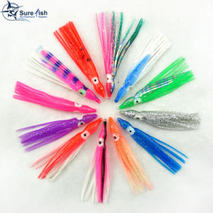 Wholesale Luminous Artificial Soft Octopus Skirt Lure pictures & photos