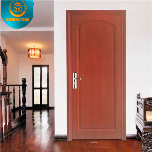 European Style Wooden Fire Rated Security Door pictures & photos