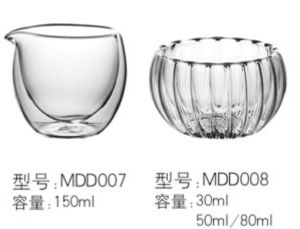 Tea Set / Glassware / Cookware / Kitchenware / Double Wall Cup pictures & photos