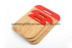 Eco-Friendly Bamboo Cutting Borad with FDA, LFGB, Certificate pictures & photos