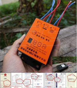 12V/24V 5A/10A (<; 120W) PWM Intelligent Solar Charger/Charge Controller, Solar Controller, Lithium Battery Controller, Street Lamp Controller, IP65 pictures & photos