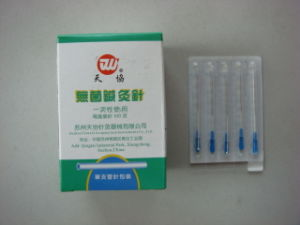 0.25x25 Mm Tianxie Brand Acupuncture Needle with Tube pictures & photos