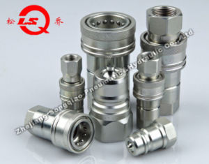 Lsq-Isoa Close Type Hydraulic Quick Coupling (STEEL) (NEW) pictures & photos