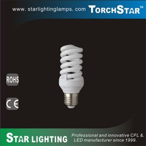6500k 23W Full Spiral E27 Energy Saving CFL pictures & photos