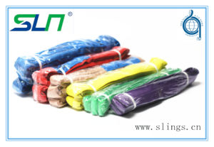 Synthetic Fibre Eye Type Lifting Round Slings (WSTDA standard) pictures & photos