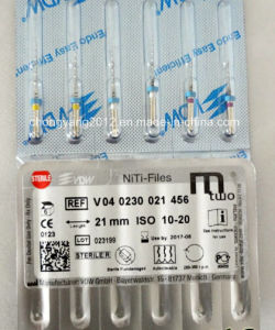 Endodontic Vdw Original Dental Rotary File Mtwo Niti Files pictures & photos