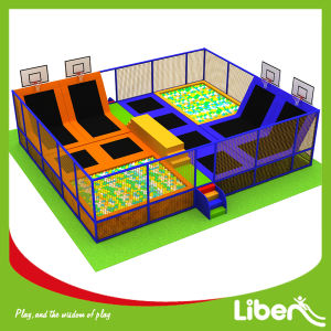 Kids Foam Pit Park Used Cheap Trampolines with Enclosures pictures & photos