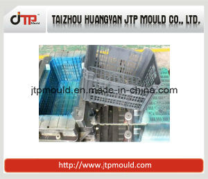Vegetable Used Plastic Injection Crate Mould/Mold pictures & photos