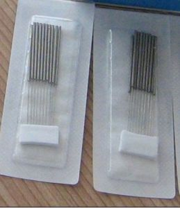 Acupuncture Needles with Spring Handle pictures & photos