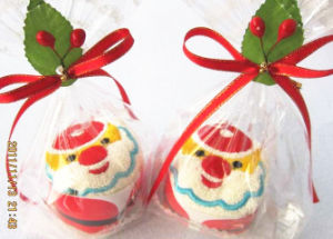 100% Cotton Cake Towel as X′mas Gift (YT-9977) pictures & photos