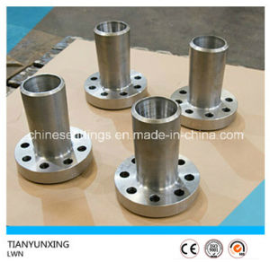 Forged Lwn Carbon Steel Long Welding Neck Flange pictures & photos