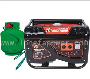 Price 5kVA 5kw LPG Natural Gas Powered Portable Generators pictures & photos