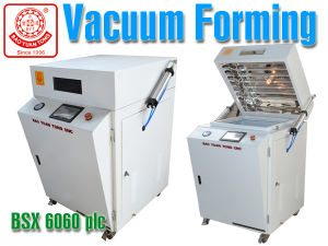 Bsx-600 Mini Deepness Plastic Vacuum Forming Machine with Height 300mm pictures & photos