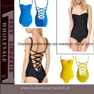 New Design Women One Piece Bandage Hot Sale Swim Suit pictures & photos
