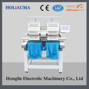 Two Head Commercial Embroidery Machine as Good as Feiya Embroidery Machine pictures & photos
