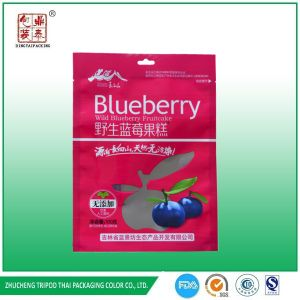 Back VMPET Foil and Front Printing Blueberry Packaging with Hang Hole