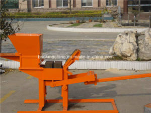 Qmr2-40 Ecological Construction Equipment with Manual Clay Interlocking Brick Machine pictures & photos