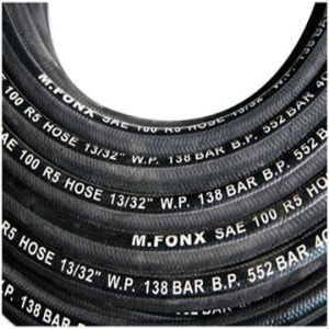 Fiber Braided Outer Hydraulic Hose R5 (factory)