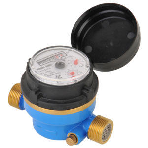 Single Jet Dry Type Vane Wheel Water Meter (LXSC-13D8) pictures & photos