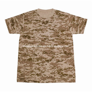 1308-3 Cotton Desert Digital Camoufalge T-Shirt pictures & photos