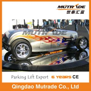 Home Use Motor Parking Car Turntable pictures & photos