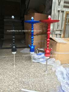 2016 New Design Aluminum Stem Narghile Mazaya Shisha Hookah pictures & photos