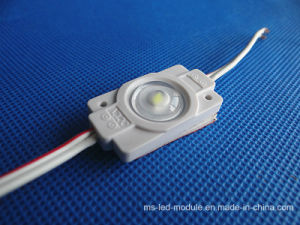 1.5W Waterproof Injection LED Module with Optical Len pictures & photos