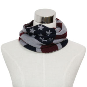 Lady Fashion Acrylic Knitted Neck Warmer Scarf (YKY4357-1) pictures & photos