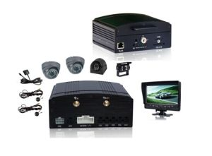 School Bus Vehicle Mobile DVR-Vcomsky (4 CH 3G Realtime Monitoring GPS H. 264) pictures & photos