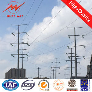 11m Tapered Painted Steel Pole with Aws D1.1 Welding Standard pictures & photos