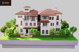 Architectural Scale Model Making, 1: 50 Villa Model (JW-254) pictures & photos